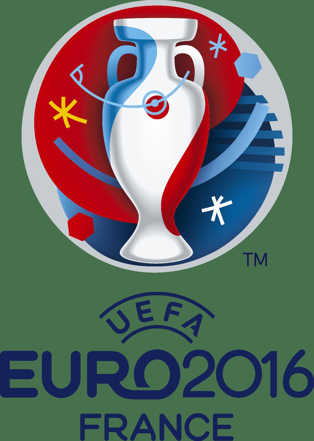 Références - Logo de la coupe d'Europe de football de 2016 organisée par l'UEFA