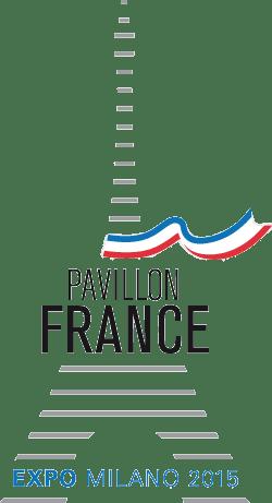 Références - Logo de notre client indirect : le pavillon France lors de l'exposition à Milan en 2015