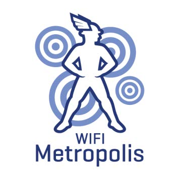 Integrators and operators: Wifi metropolis logo