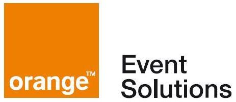 Logo orange event solution