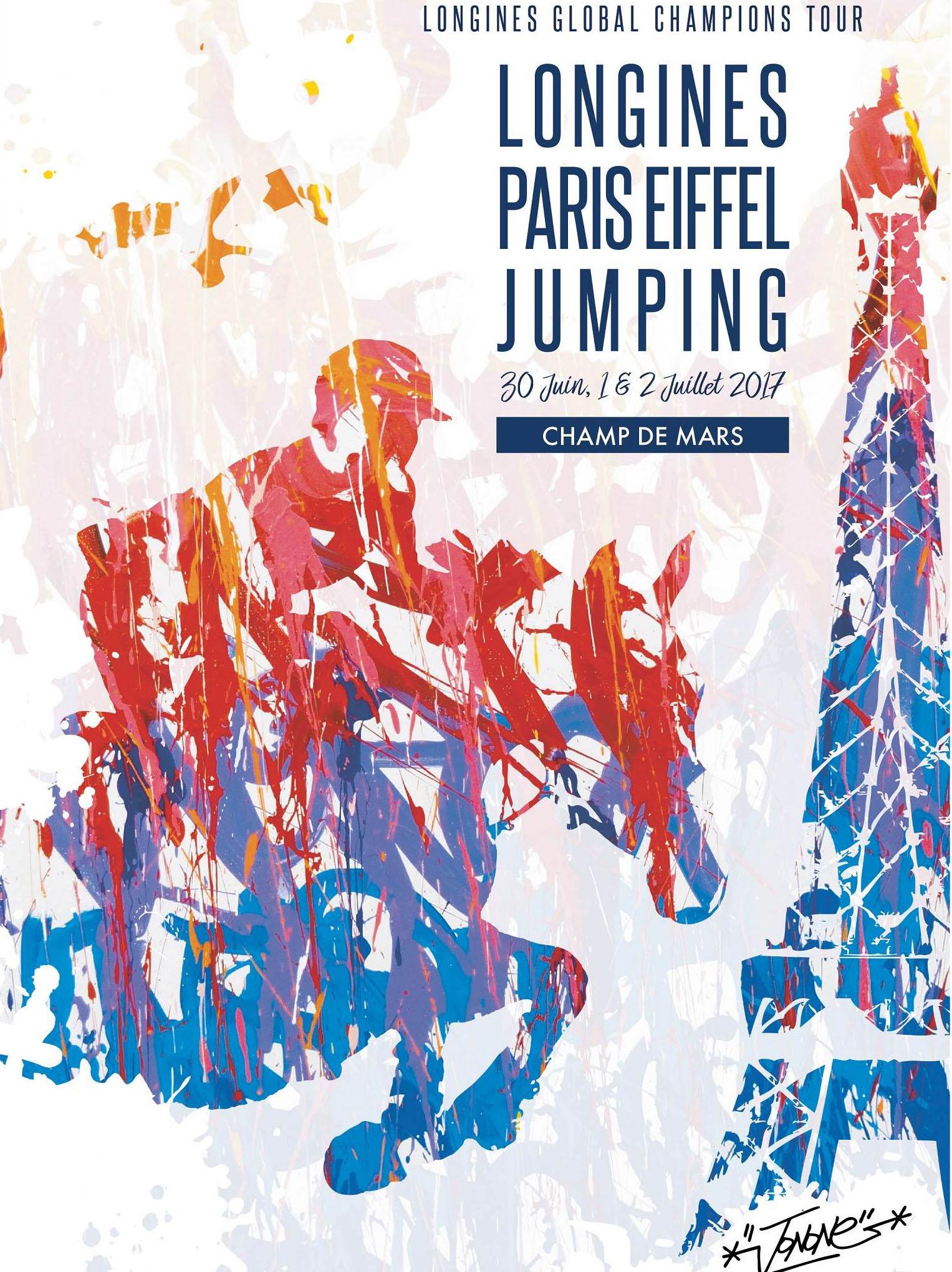 Logo Longines Eiffel Jumping