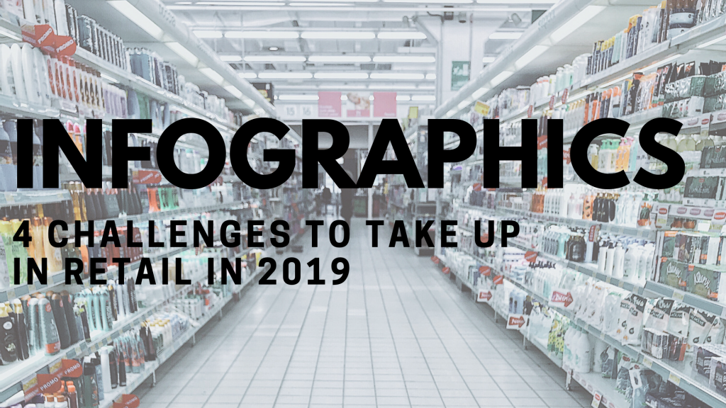 Infographics - 4 challenges for retail in 2019