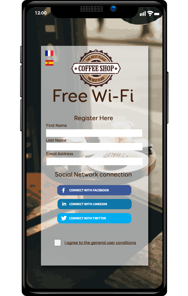 captive portal on iphone wifi customer experience