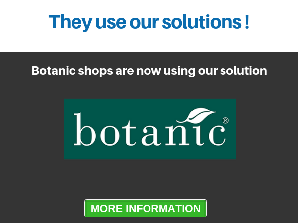 commercial reference : Botanic shops